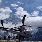 everest base camp helicopter return
