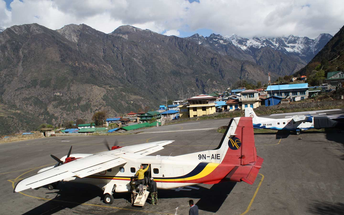 Day 2 lukla airport