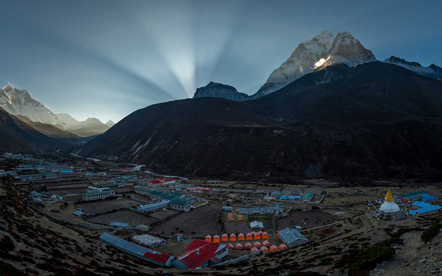 dingboche village