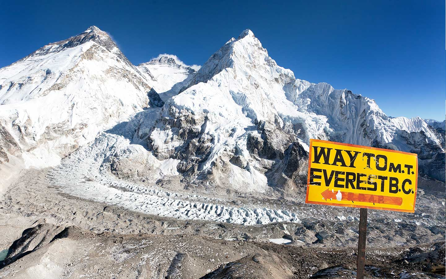How old is mount everest?
